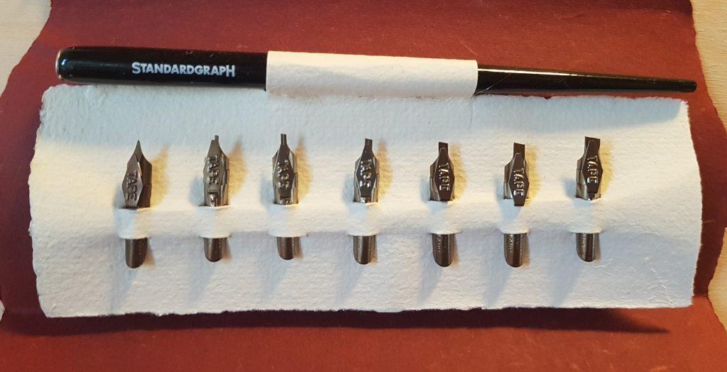 kaligrafija - orodje