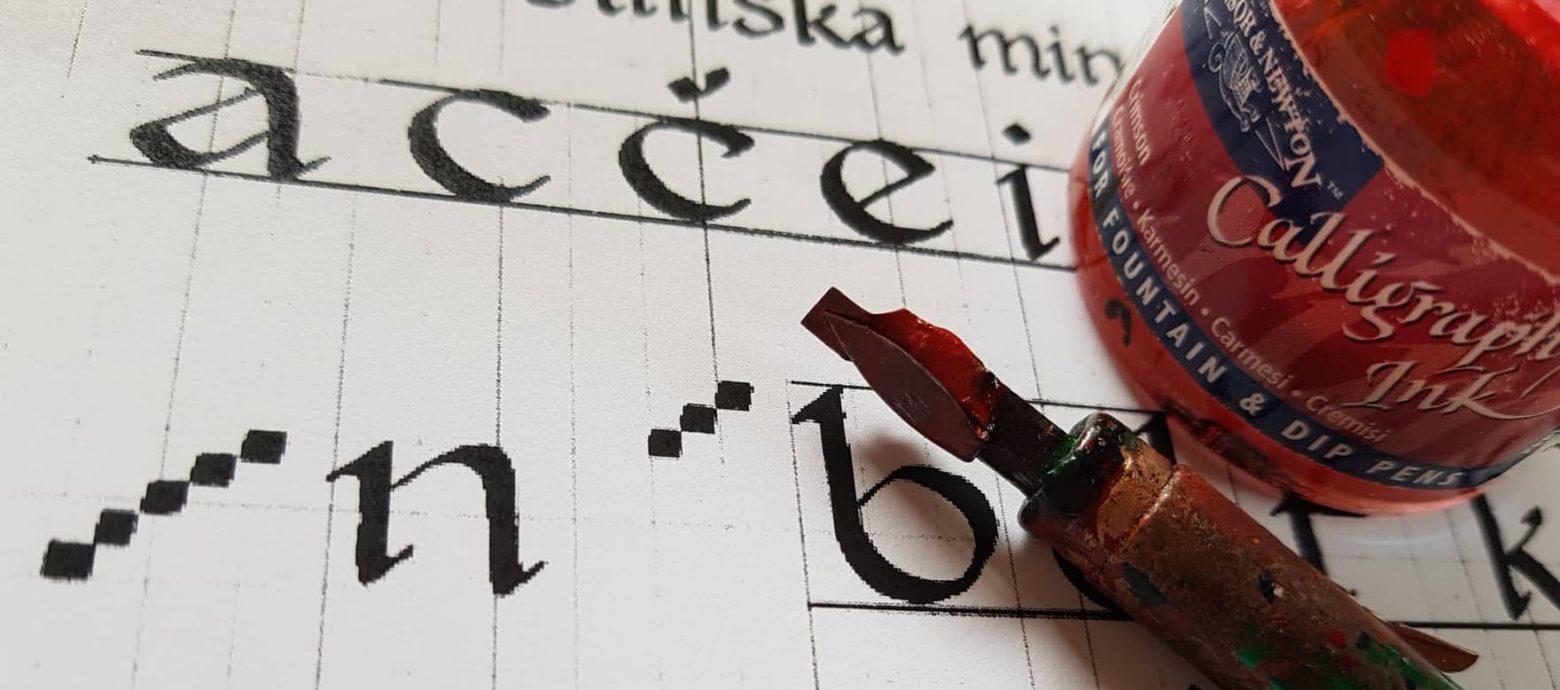 Kaligrafija za začetnike